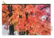 Trees Aflame Carry-all Pouch