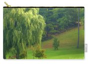 Trees Along Hill Carry-all Pouch