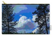 Trees And A Cloud For Crying Out Loud Carry-all Pouch