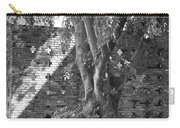 Trees And Brick Crosses Carry-all Pouch