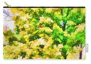 Trees And Leaves 1 Carry-all Pouch