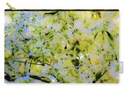 Trees And Leaves Carry-all Pouch