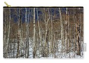 Trees And Something In The Snow Carry-all Pouch