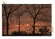 Trees And Sunrise Carry-all Pouch