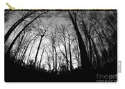 Trees At Dusk Carry-all Pouch
