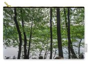Trees At Lake Schlachtensee Carry-all Pouch
