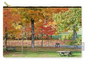 Trees Begins Autumn Color Carry-all Pouch