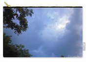 Trees Beneath Beautiful Summer Sky Carry-all Pouch