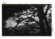 Trees Black And White - San Salvador Carry-all Pouch