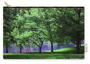 Trees By A Pond Carry-all Pouch
