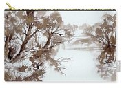 Trees By A River Carry-all Pouch