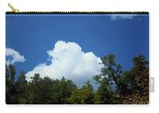 Trees, Clouds, And Sky Carry-all Pouch