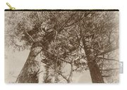 Trees Colliding Carry-all Pouch