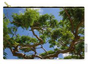 Trees In Bermuda Carry-all Pouch