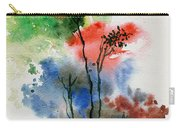 Trees In Colors Carry-all Pouch