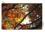 Trees In Fall Fashion Carry-all Pouch