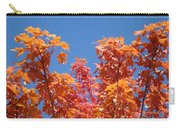 Trees Landscape Art Print Fall Tree Leaves Baslee Troutman Carry-all Pouch