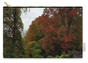Trees Of Colorful Leaves In Autumn Mi Carry-all Pouch