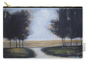 Trees On Rural Road 2 Carry-all Pouch