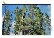 Trees On The Edge 1 Carry-all Pouch