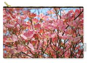 Trees Pink Spring Dogwood Flowers Baslee Troutman Carry-all Pouch