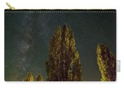 Trees Under The Milky Way On A Starry Night Carry-all Pouch