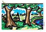 Trees W Water Ddl Carry-all Pouch