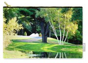 Trees With Mirror Lake 2 Carry-all Pouch