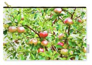 Trees With Red Apples In An Orchard Carry-all Pouch