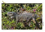 Treetop Iguana Carry-all Pouch