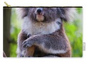 Treetop Koala Carry-all Pouch by Mike  Dawson