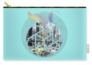 Trendy Design New York City Geometric Mix No 4 Carry-all Pouch by Melanie Viola