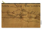 Trenton New Brunswick Turnpike 1800 Carry-all Pouch