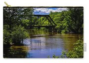 Trestle Over River Carry-all Pouch
