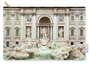 Trevi Fountain, Fontana Di Trevi, After The Restoration Of 2015  Carry-all Pouch