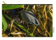 Tri-color Heron 5 Carry-all Pouch