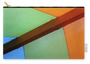 Tri Color Minimal  Carry-all Pouch