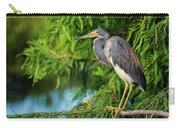 Tri-colored Heron At Sunset  Carry-all Pouch