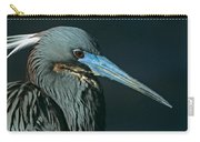 Tri Colored Heron Displaying Breeding Plumage Carry-all Pouch