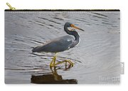 Tri-colored Heron Wading In The Marsh Carry-all Pouch