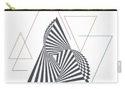 Triangle Op Art Carry-all Pouch