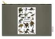 Triassic Dinosaurs Carry-all Pouch