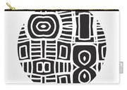 Tribal Ball- Art By Linda Woods Carry-all Pouch by Linda Woods