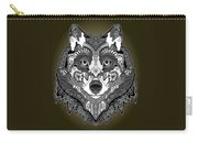 Tribal Wolf Carry-all Pouch
