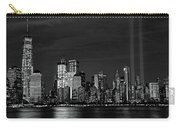 Tribute In Light  # 7 - B  And  W Carry-all Pouch