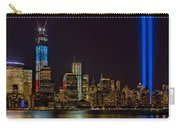Tribute In Lights Memorial Carry-all Pouch by Susan Candelario