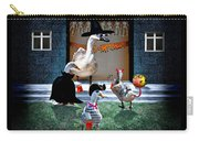 Trick Or Treat Time For Little Ducks Carry-all Pouch
