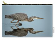 Tricolor Heron Hunting Carry-all Pouch