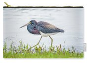 Tricolor Heron Carry-all Pouch