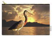 Tricolored Heron At Sunset Carry-all Pouch